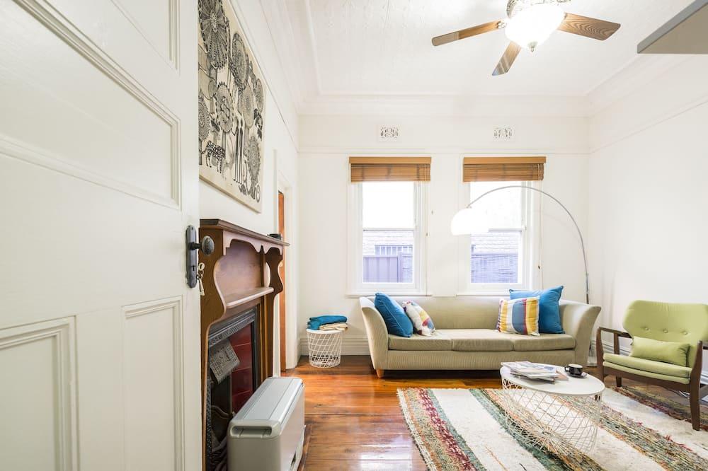 Maison Deluxe, 2 chambres, terrasse - Coin séjour