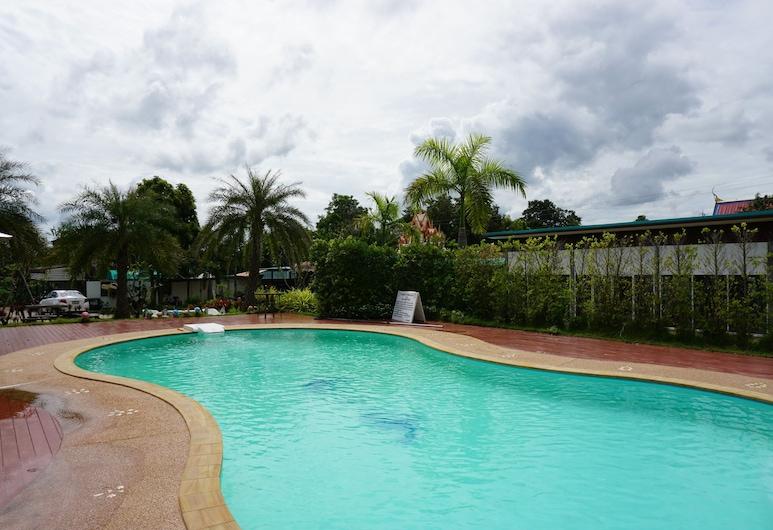 Baan Suan Siriphon Resort Khon Kaen, Khon Kaen, Utendørsbasseng