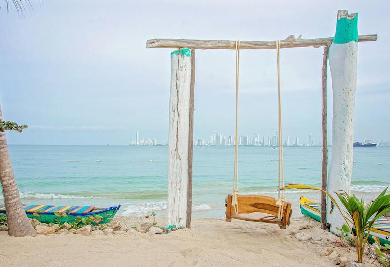 Namaste Beach Club & Hotel, Isla de Tierra Bomba, Praia