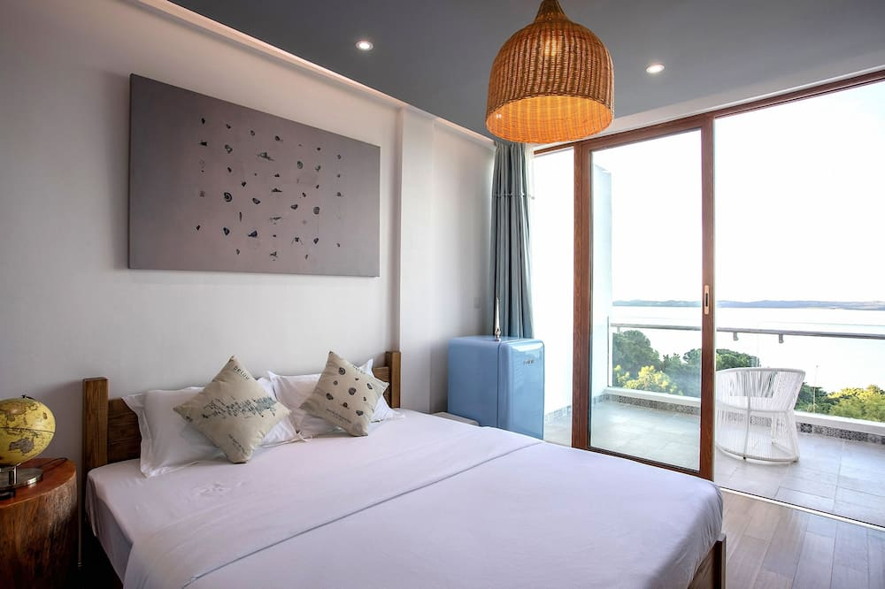 Double Room, Sea View - Living Area