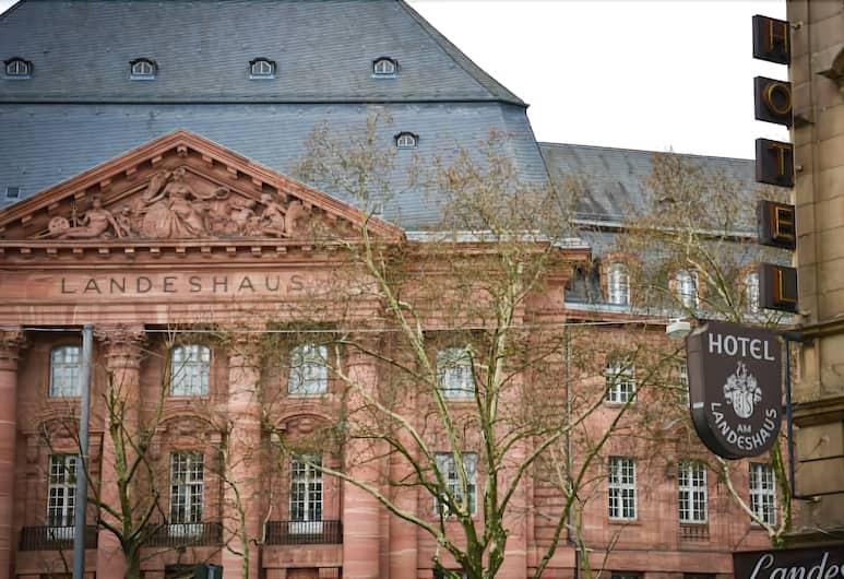 Hotel Am Landeshaus, Wiesbaden, Uitzicht vanaf hotel