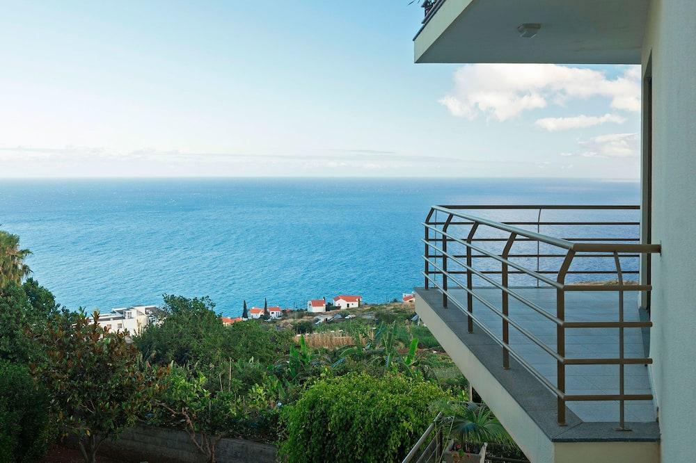 apartman, 1 hálószobával, terasz, kilátással a tengerre - Terasz/udvar