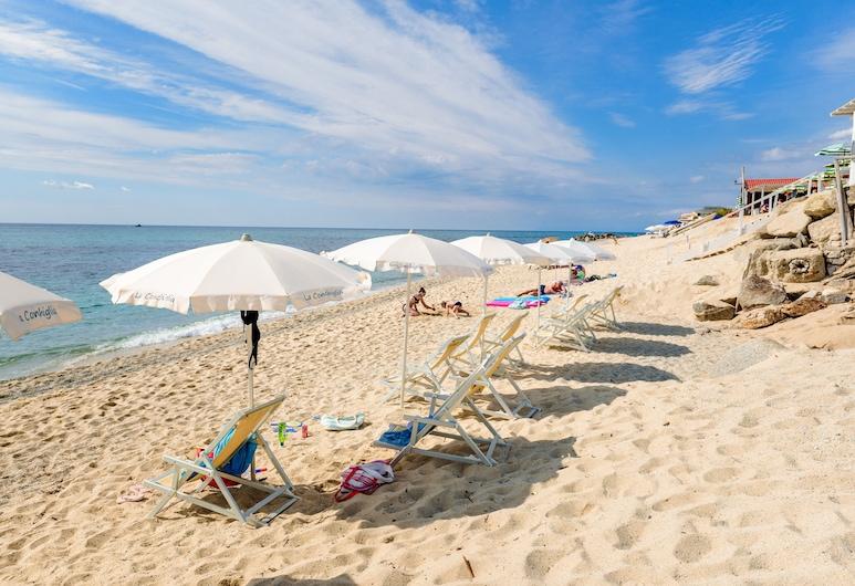 La Conchiglia Suites & Spa, Ricadi, Beach