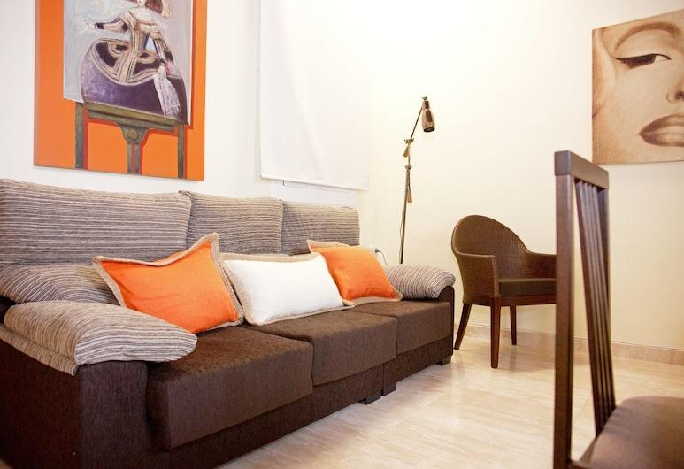 巴巴塞隆拿豪華蘭布拉公寓酒店, 巴塞隆拿, 公寓, 3 間臥室, 客廳