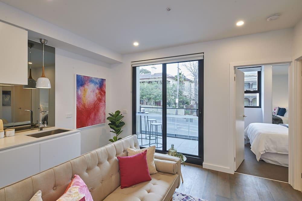 ดีไซน์อพาร์ทเมนท์, 2 ห้องนอน - พื้นที่นั่งเล่น