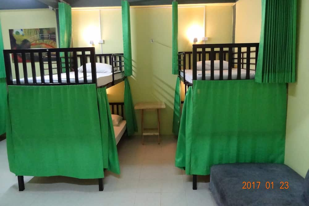 8-Bed Shared Dormitory - Living Area