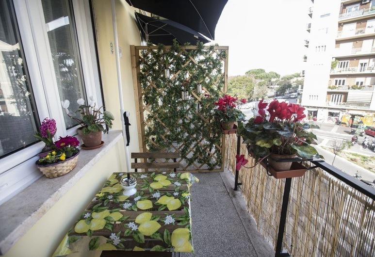 A Casa di Benny, Roma, Suite, balcone, Balcone
