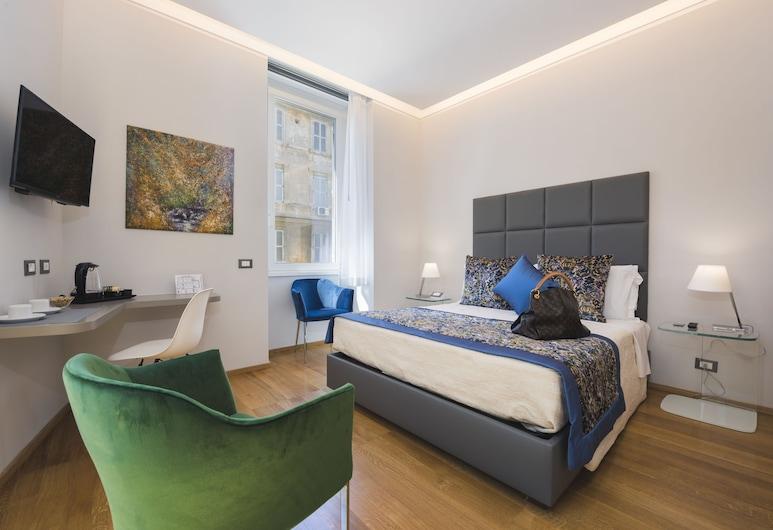 瑪斯赫力諾套房酒店, Rome, 高級雙人房, 1 張加大雙人床, 無障礙, 城市景, 客房