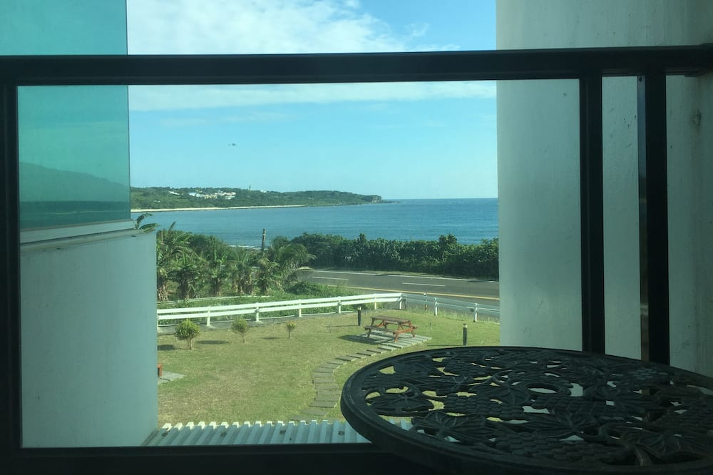 海景陽台雙人房2F - 陽台景觀