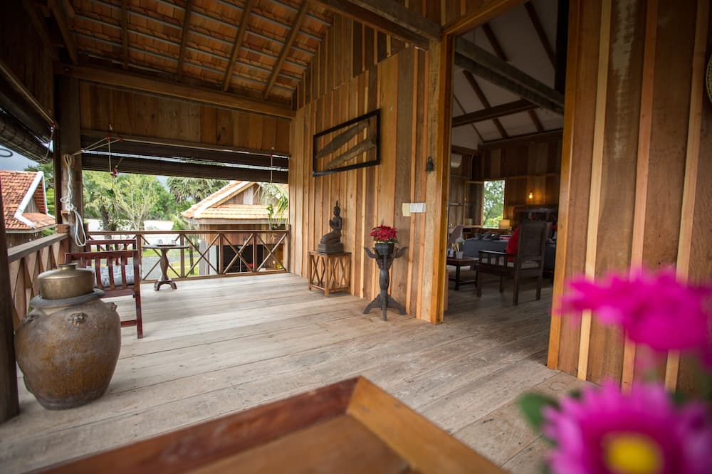 Kuća (Khmer Residence) - Balkon