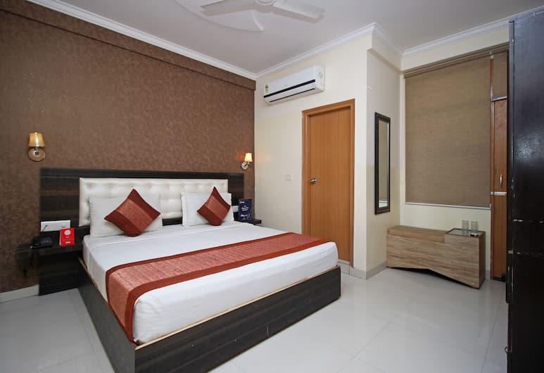 OYO 8967 Hotel Aeroporto, Нью-Дели, Стандартный двухместный номер с 1 или 2 кроватями, 1 двуспальная кровать, отдельная ванная комната, Номер
