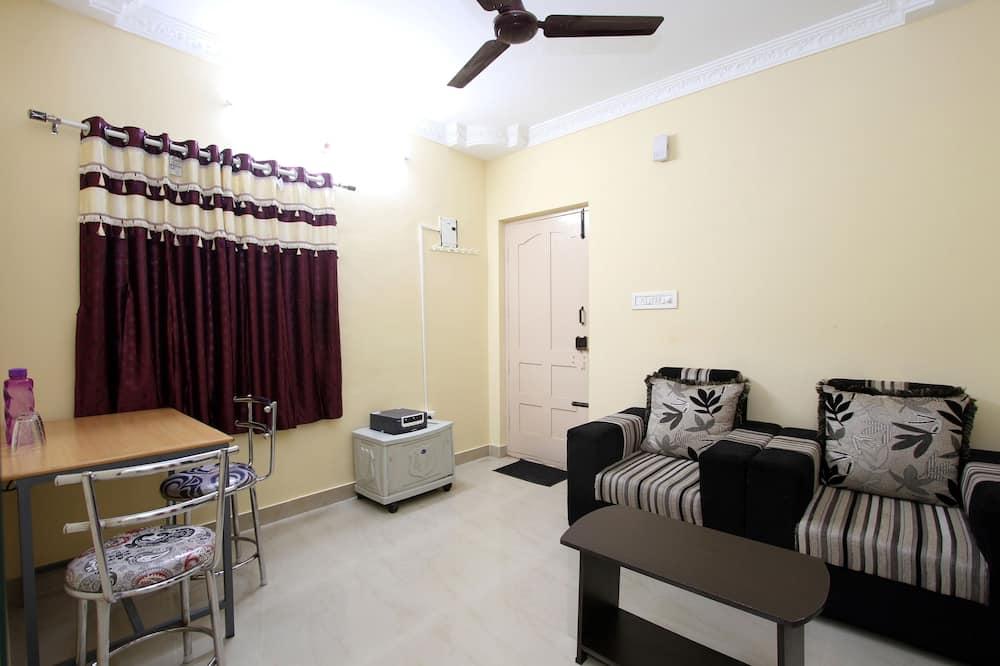 標準雙人或雙床房, 1 間臥室 - 客廳