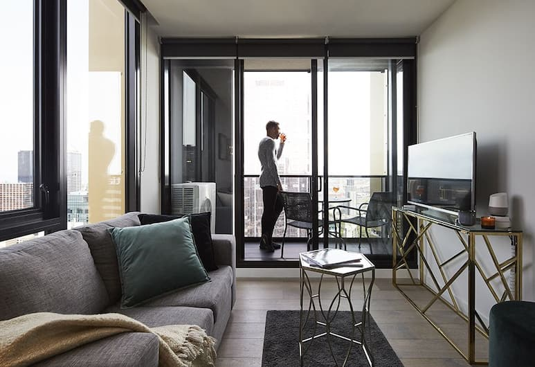 Empire Melbourne Central by Apartments of Melbourne, Melbourne, Executive One Bedroom Suite with Balcony, Room