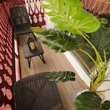 Habitación doble, 1 cama Queen size, balcón, vista al mar - Balcón