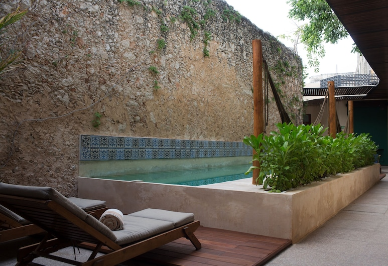 Ya'ax Hotel Boutique, Mérida, Suite, Terrasse/Patio