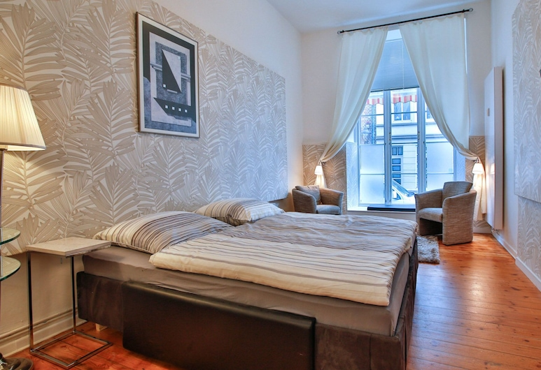 Coco Apartment Julia for 2 People, Lübeck, الغرفة