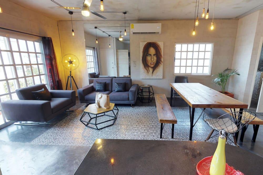 Apartmán typu Superior, 2 spálne, kuchyňa (1 King and 2 Double Beds) - Obývacie priestory