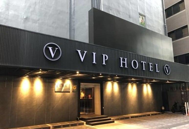 上賓大飯店, 台北市, 飯店入口