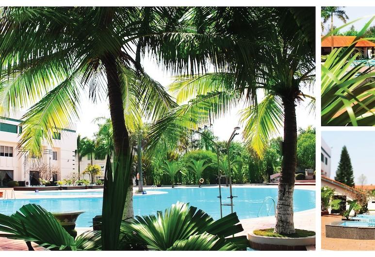 Nam Cuong Hai Duong Hotel, Hai Duong, Jardín