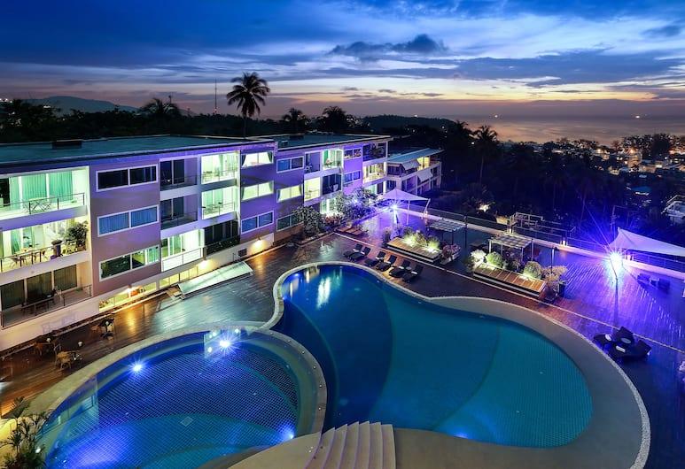 Karon Butterfly Residence, Karon, Pool