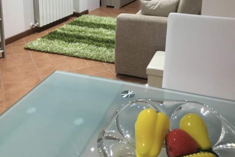 標準公寓, 1 間臥室, 城市景 - 客廳