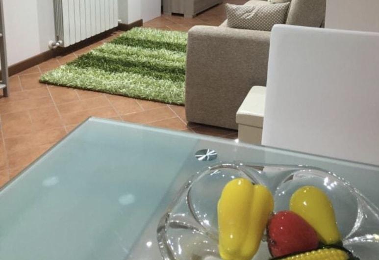 ZTL - zona tempo libero, Spoleto, Standard-huoneisto, 1 makuuhuone, Kaupunkinäköala, Oleskelualue