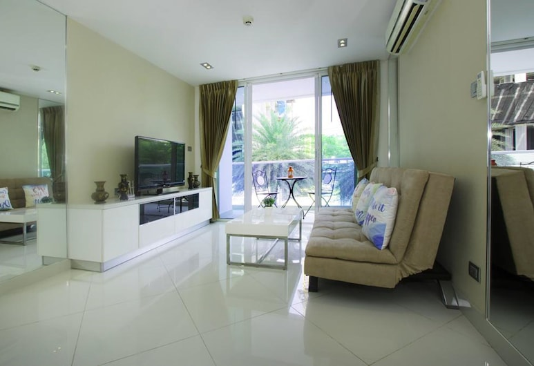 Cozy Apartment, Pattaya, 1 Bedroom Apartment, Olohuone