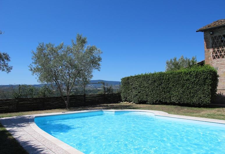 Villa San Michele Bed and Breakfast, Barberino Tavarnelle, Udendørs pool