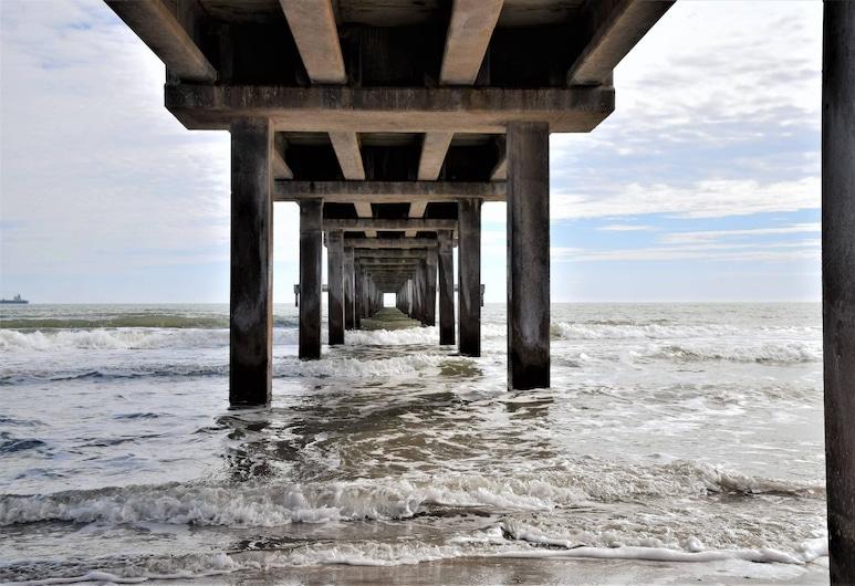 132 Sea Breeze - Beachview 1 Bedroom Condo, Perlabuhan Aransas , Condo, 1 Bedroom, Pantai