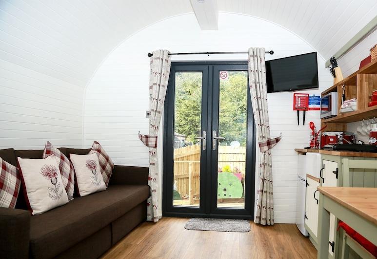Kevock Vale Park, Lasswade, Апартаменти, приватна ванна, з видом на сад (POD-(Sleeps up to 4)), Номер