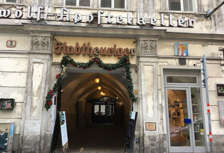 City-center apartment, Vienna, Lối vào khách sạn