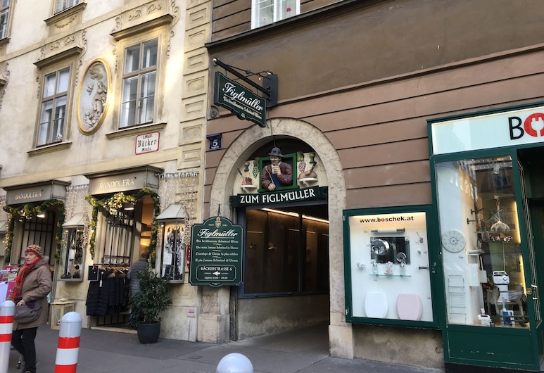 City-center apartment, Vienna, Hotel Entrance