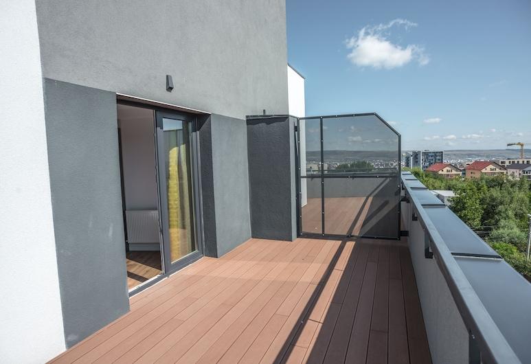 UBA Accommodation, Cluj-Napoca, Departamento, 1 habitación, balcón, Balcón