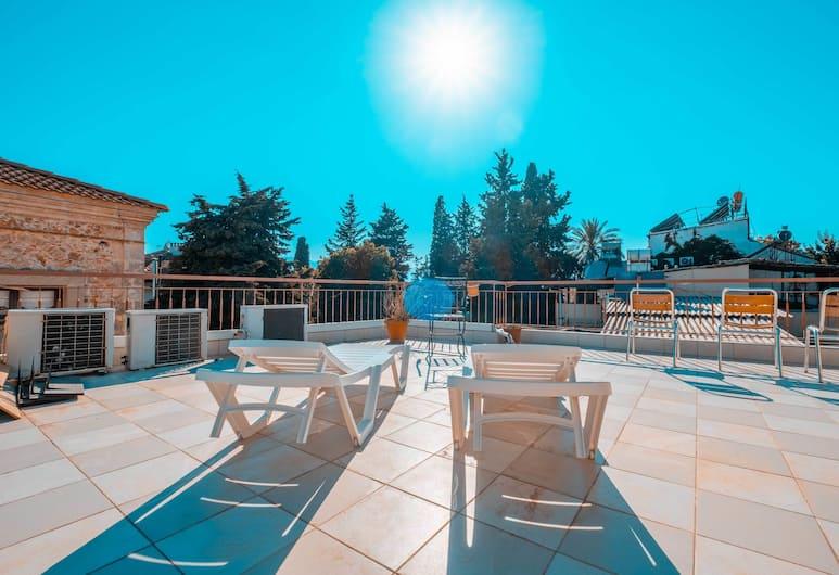 Kaleici Efsali Hotel, Antalya, Teras/Veranda