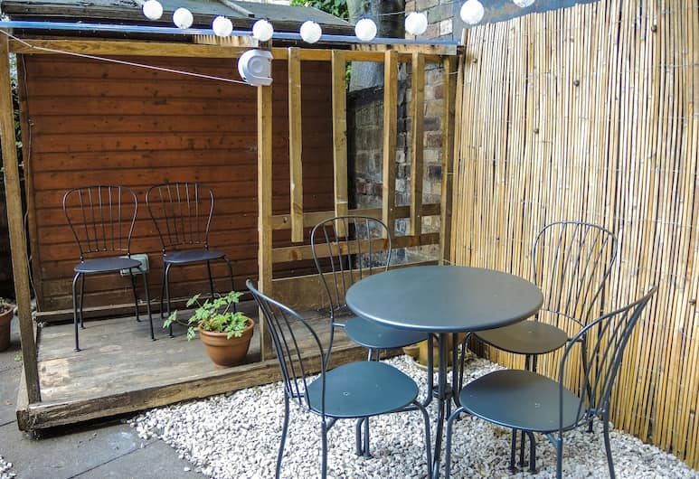 Central and Modern with a Garden, Édimbourg, Appartement, 1 chambre, Balcon