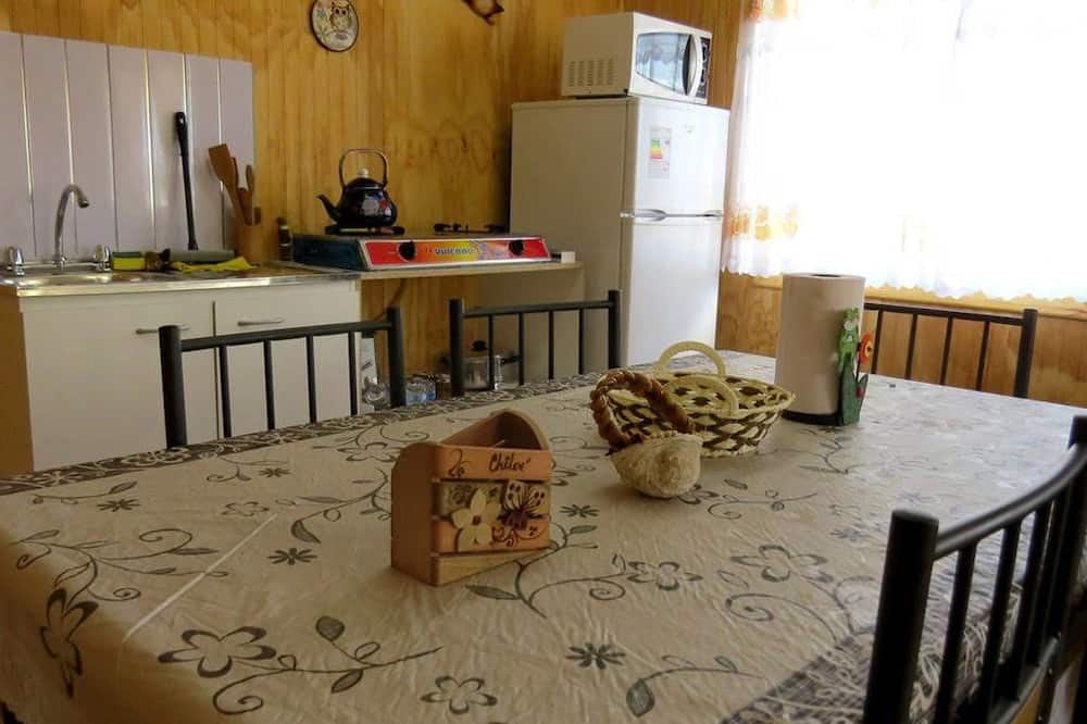 Cabaña estándar, 2 habitaciones - Servicio de comidas en la habitación