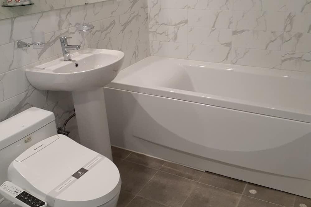 Suite, Bergblick - Badezimmer