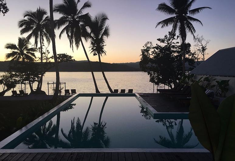 The Moso Vanuatu, Moso Island, Vanjski bazen
