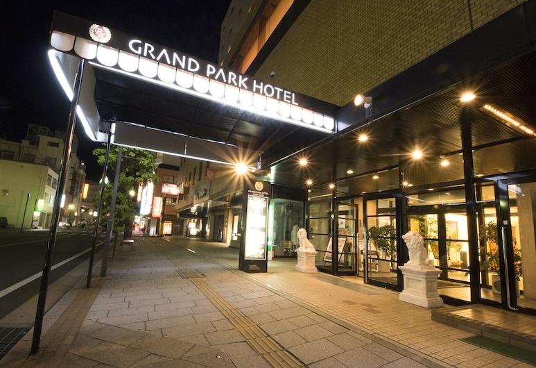 グランパークホテル パネックスいわき, いわき市, ホテルのフロント