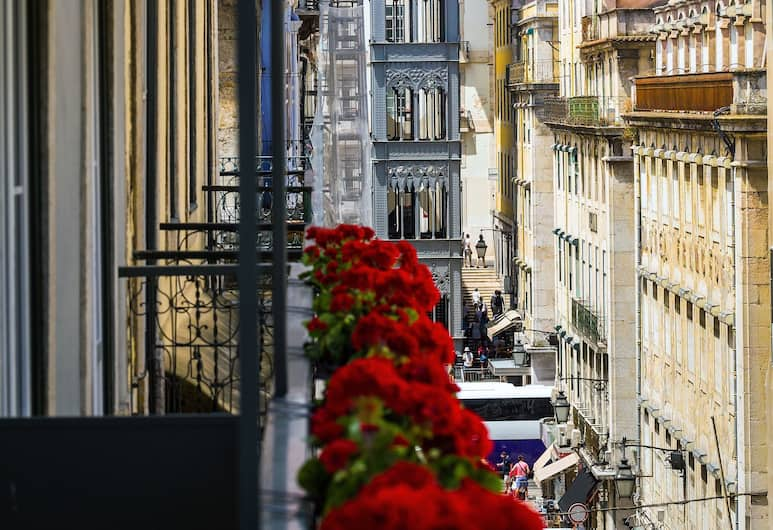 Villa Baixa - Lisbon Luxury Apartments, Lisszabon, Deluxe stúdió, Kilátás az erkélyről