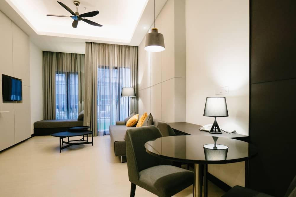 Suite, 2 BR - Oturma Alanı