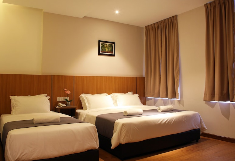 Ahyu Hotel, Куала-Лумпур, Тримісний номер «Делюкс», Номер