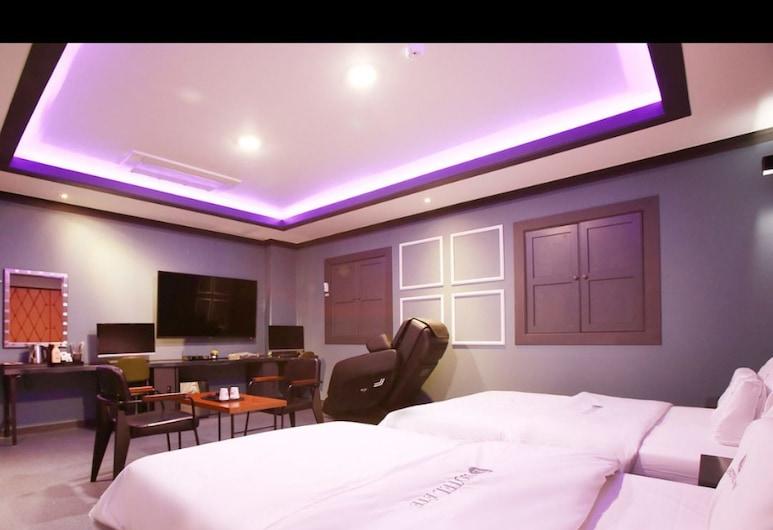 ETE Hotel, Incheon, Triple Room, Guest Room