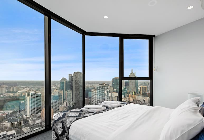 IFSuites (IFSTAYS) Light House Apartment, Melbourne, Deluxe Apartment, 1 Queen Bed, View from room