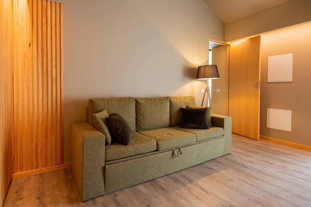 Коттедж, 1 спальня, патио (Casa da Quinta) - Гостиная