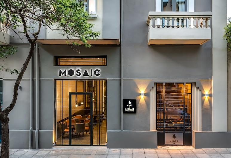 Mosaic, La Canea, Entrada del hotel