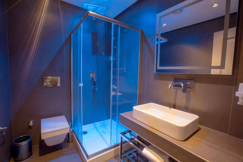Comfort-Zimmer, Terrasse - Badezimmer