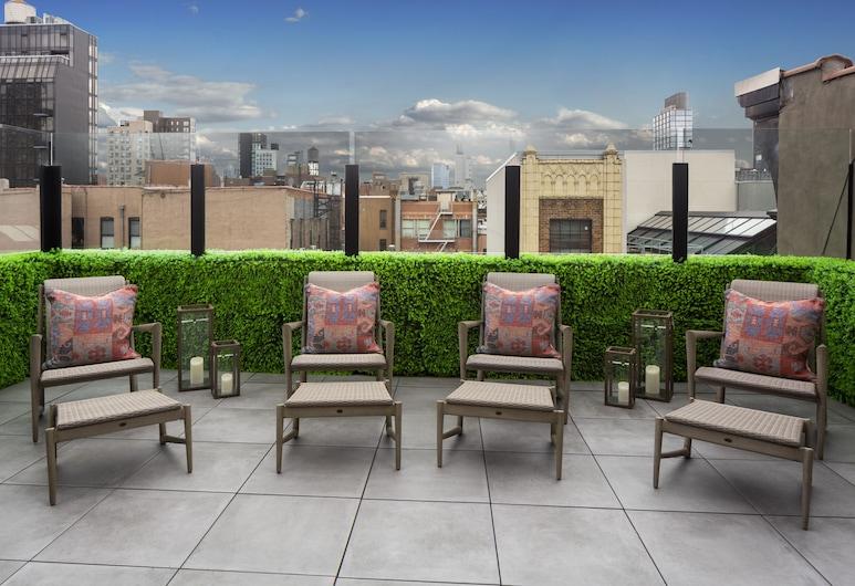Redford Hotel, New York, Terrass
