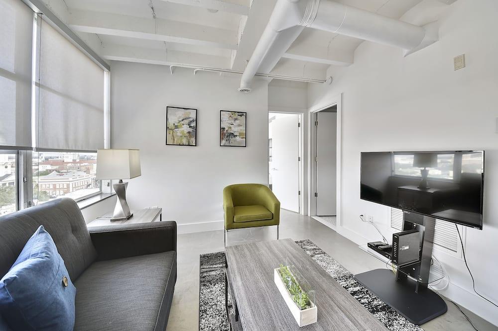 Eenvoudig appartement, 2 slaapkamers - Woonruimte