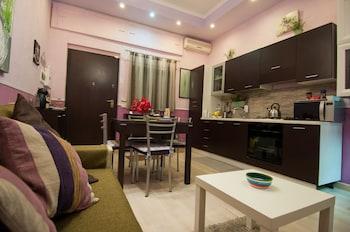 在卡坦扎罗的海濱公寓酒店照片